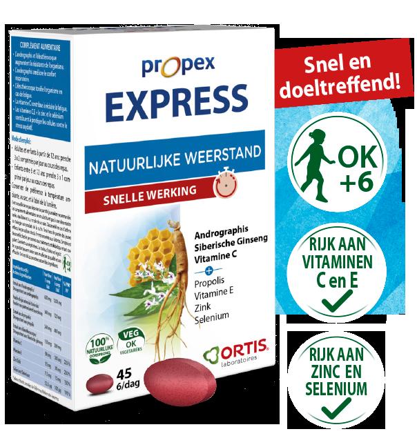 PROPEX EXPRESS - Snel en doeltreffend!