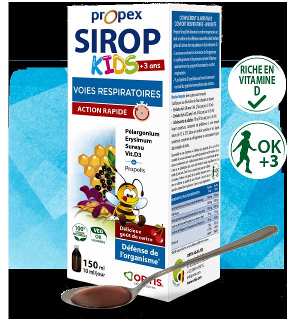 Propex Sirop Kids - Riche en vitamine D
